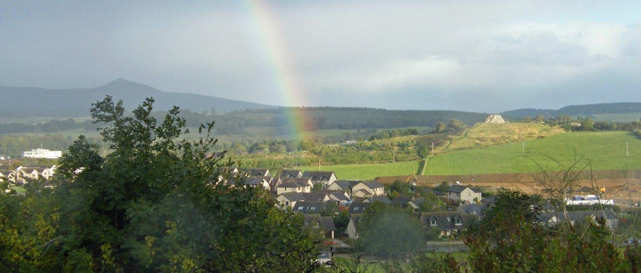 Place Of Origin Bennachie rainbow08