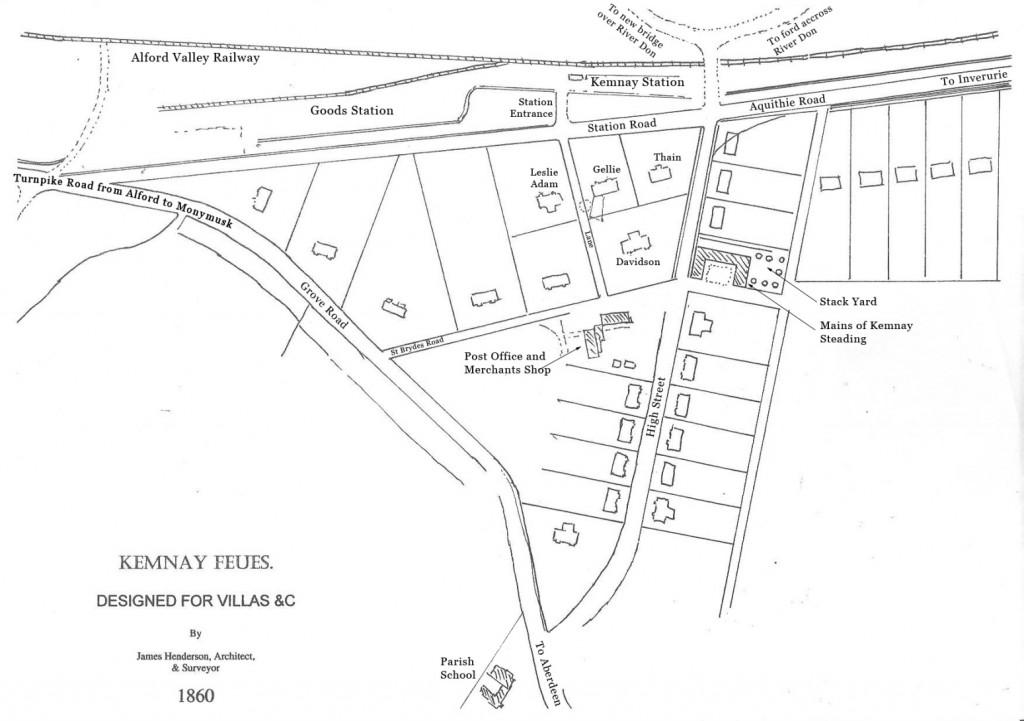 map of Kemnay