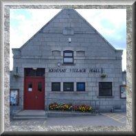 village hall 70x70 granite frame 02 button
