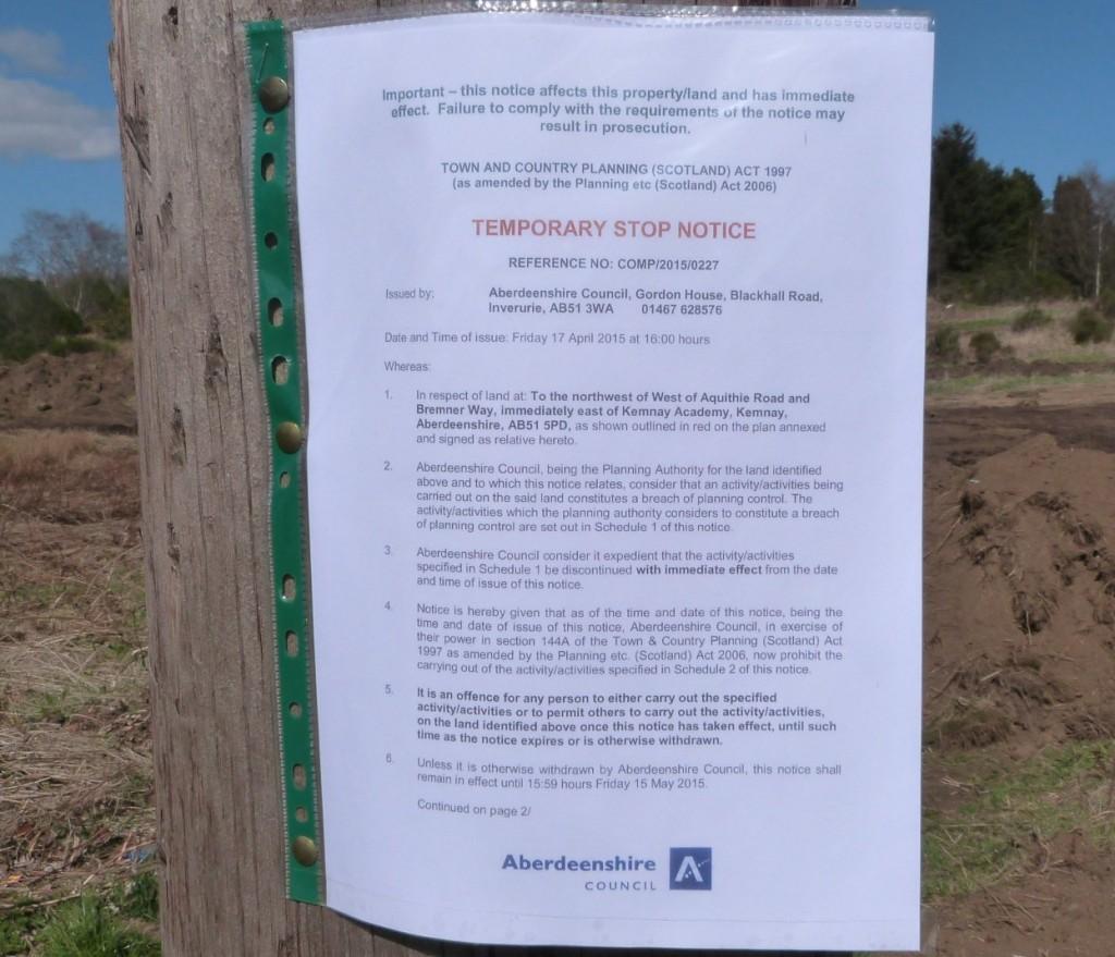 Aquithie excavations 07