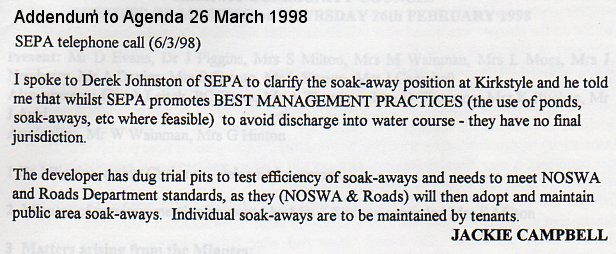 26-03-1998 addendum re soakaways adoption