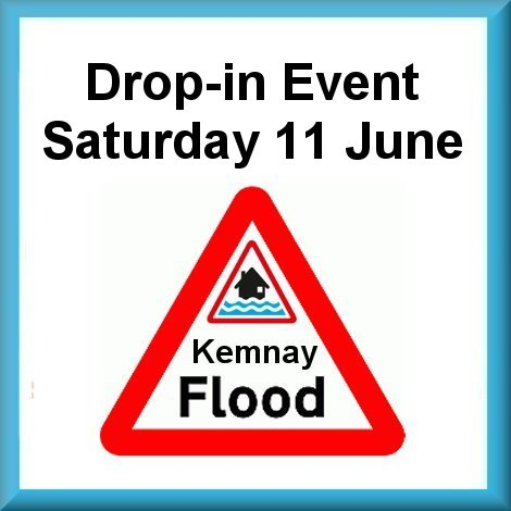 Floods Kemnay Drop in Event