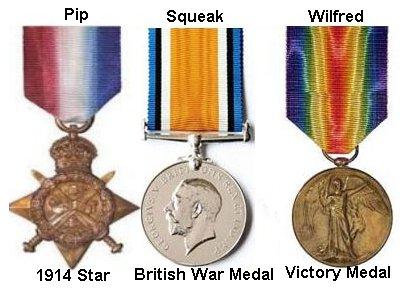 Evans Alfred medals