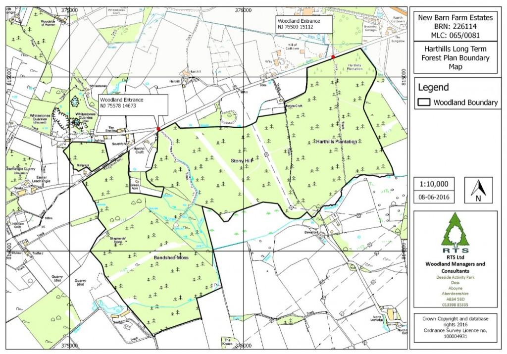 Harthills Boundary